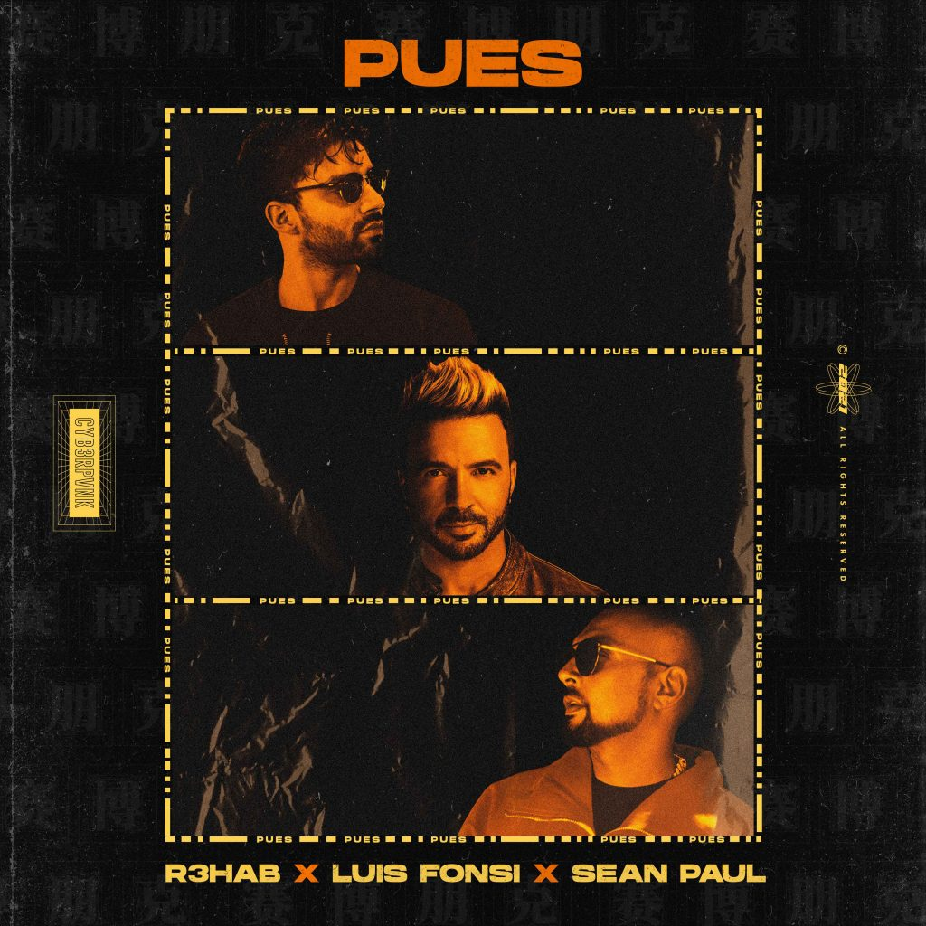 R3HAB ft Luis Fonsi and Sean Paul - Pues